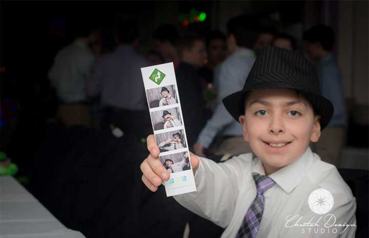 bar mitzvah photo booth rentals