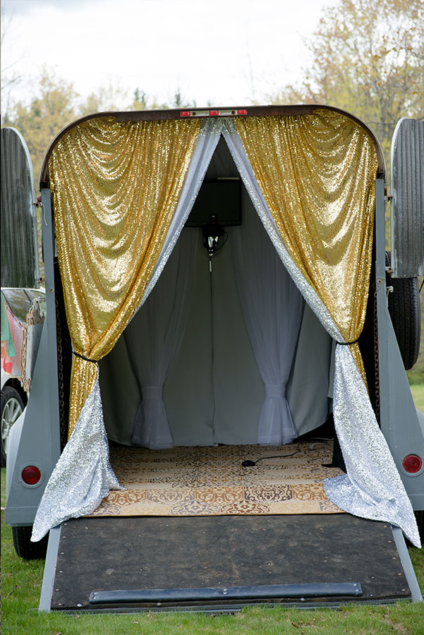 Horse Trailer Photo Booth - CDS Photo Booths